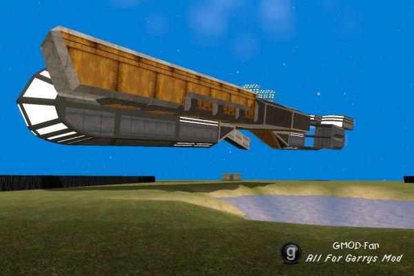 Космический корабль на sbeep