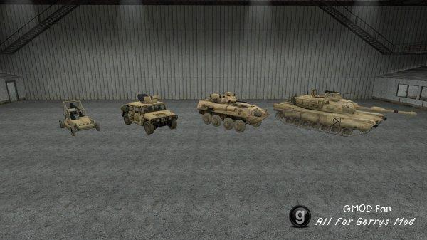 Battlefield 2 SCars