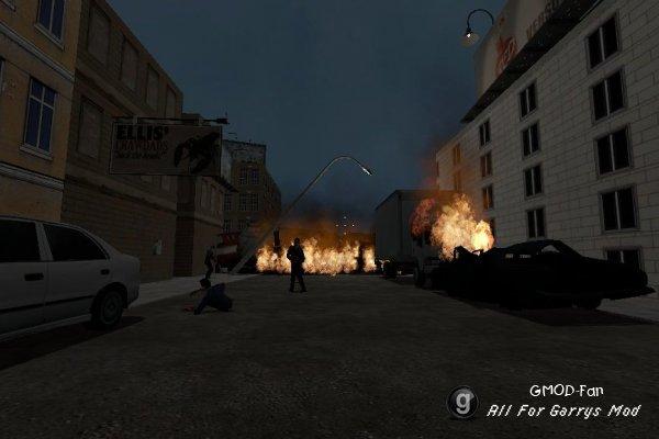Resident evil 2 city streets