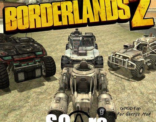 Borderlands 2 SCars
