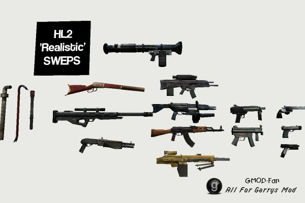 HL2 Mixed SWEPS Pack.