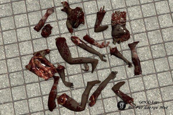 L4D2 Zombie Limbs