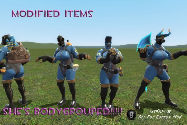 ENhanced Femme Pyro + Items