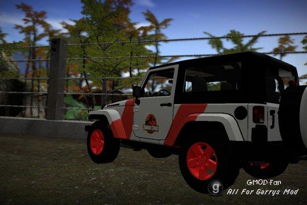 Gmod Jurassic Park Car Skins