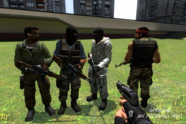 Enemy CT/friendly T css npc