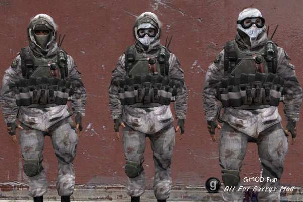 Modern Warfare2 Russian Snow Spetsnaz
