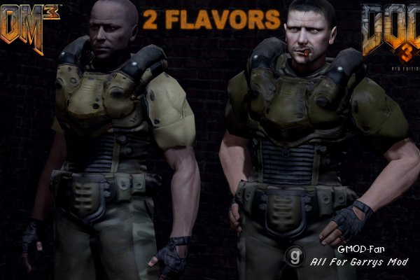DooM 3 Model Pack: BFG Edition