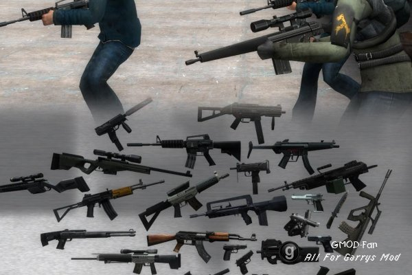 CSS Weapons Retextured
