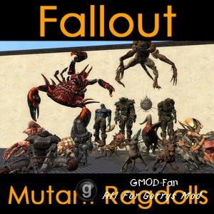 Fallout Mutant Ragdolls