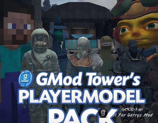 GMod Tower: Player Model Pack
