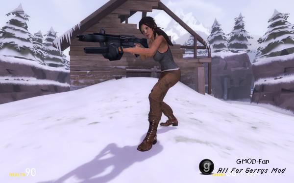 Lara Croft Playermodel