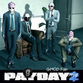 Payday 2 NPCs and Player Models