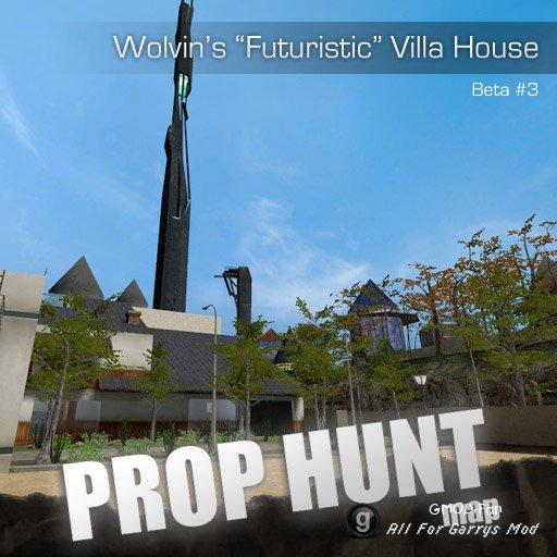 Wolvin's Villa PropHunt Map FINALE