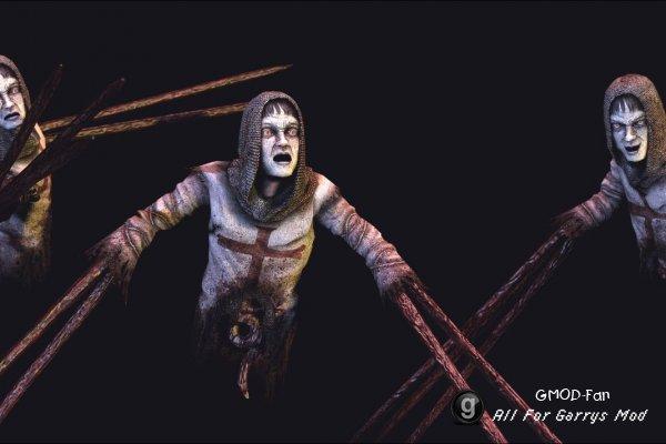 Модель из игры Clive Barker's Jericho.
