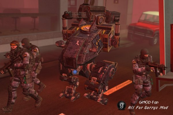 Mech Mule из игры FEAR 3