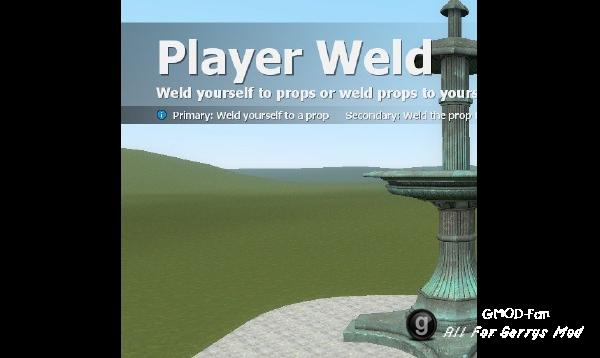 Player Weld Tool