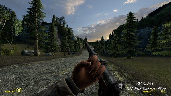 DoD:S Weapons on M9K Base