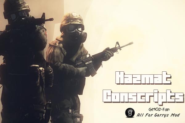 Hazmat Conscripts