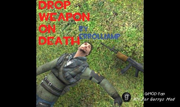 Drop Weapon On Death