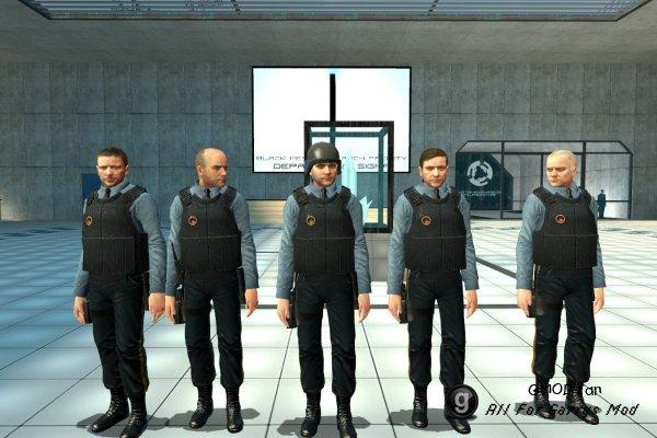Black Mesa NPCs