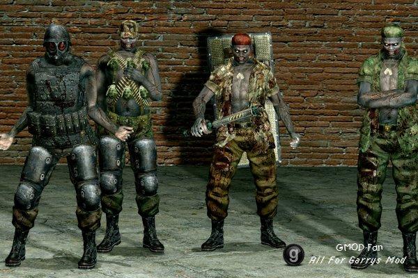 Resident Evil 5 Military Majinis