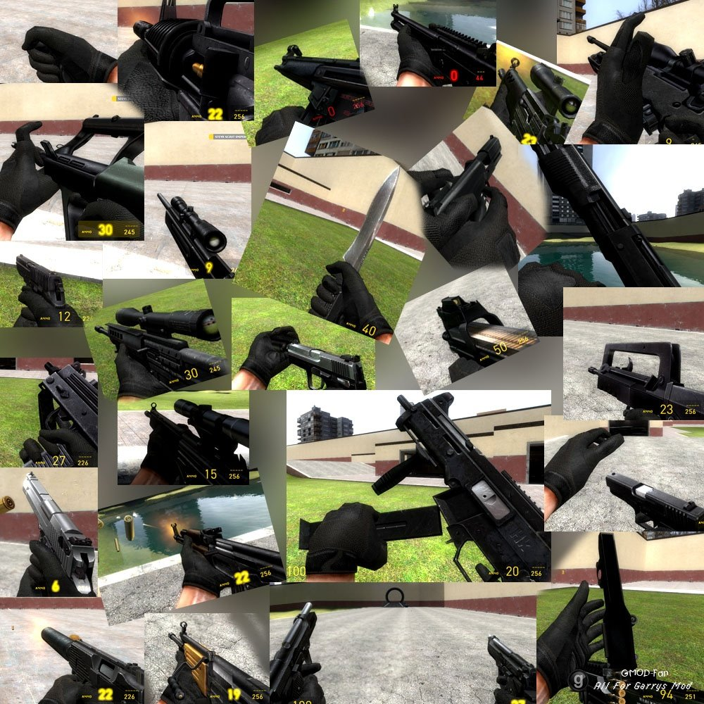 css weapons gmod