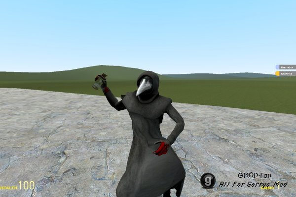 SCP 049 Player and NPC model
