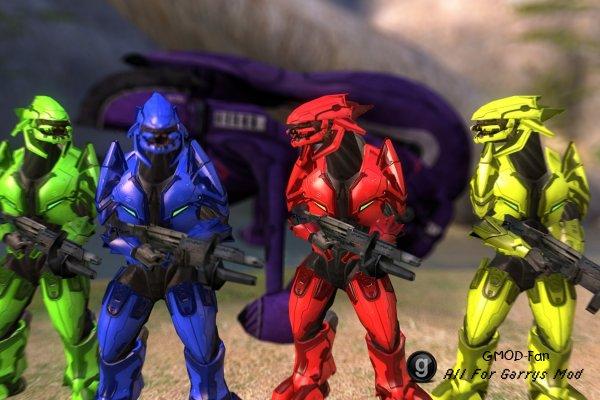 Halo 3: Elite Ragdoll/Playermodel/NPCs