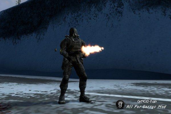 NPC и модели игрока из игры S.T.A.L.K.E.R.
