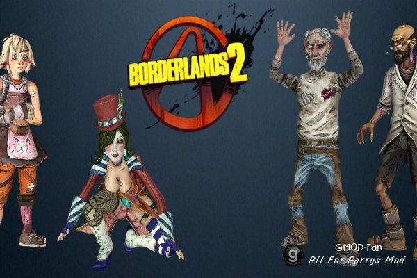 Borderlands 2 Npc pack