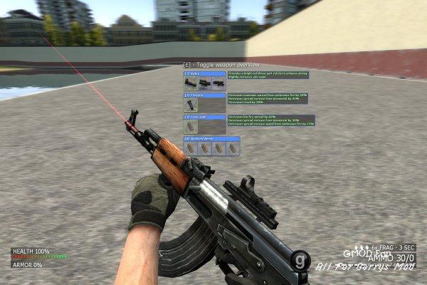 Customizable Weaponry