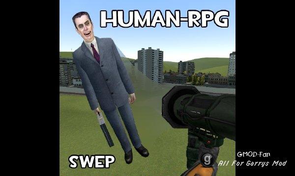 Human Rocket Launcher