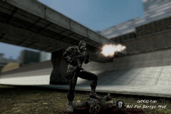 (Исправлено)NPC и модели игрока из игры S.T.A.L.K.E.R.