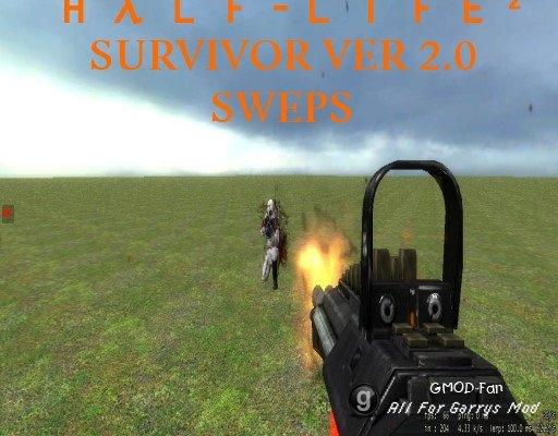 Half-Life 2 Survivor Ver 2.0 SWEP Pack