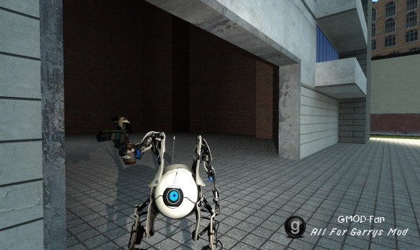 Portal 2 Atlas Playermodel