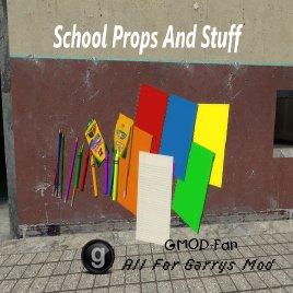 School Props And Stuff