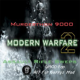 M9K Modern Warfare 2 Assault Rifles Part 1
