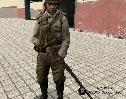 WW2 Imperial Japanese Army NPCs and Playermodels