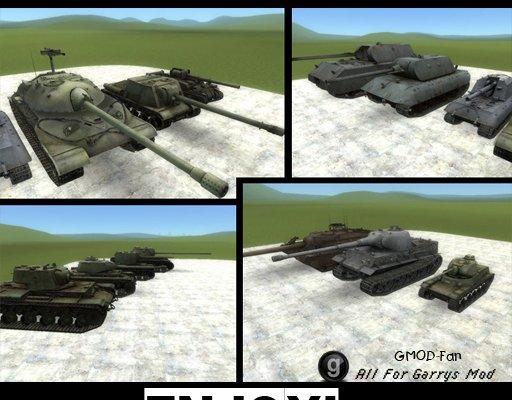 WOT Tanks Pack