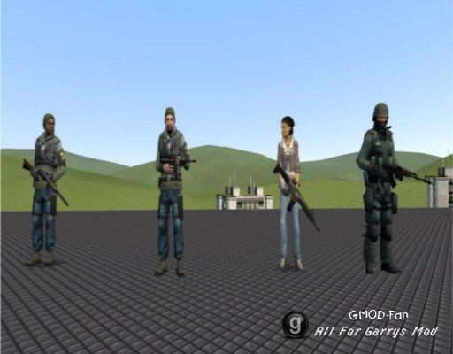 M9K SWEPs for NPCs