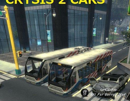 Crysis 2 Cars