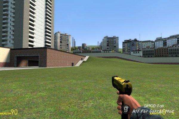 HL2 CTF Gold Pistol Reskin