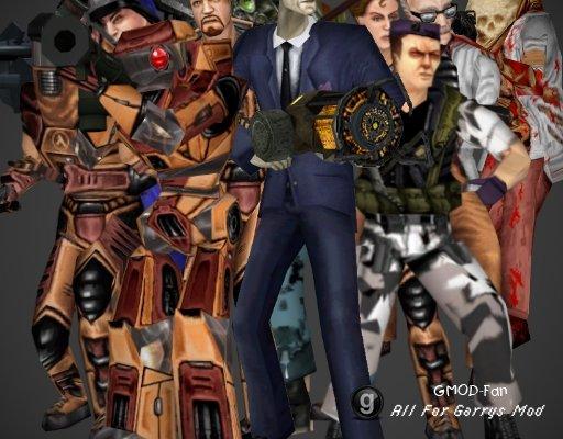 Half-Life DM:S Playermodels