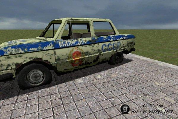USSR_police_car
