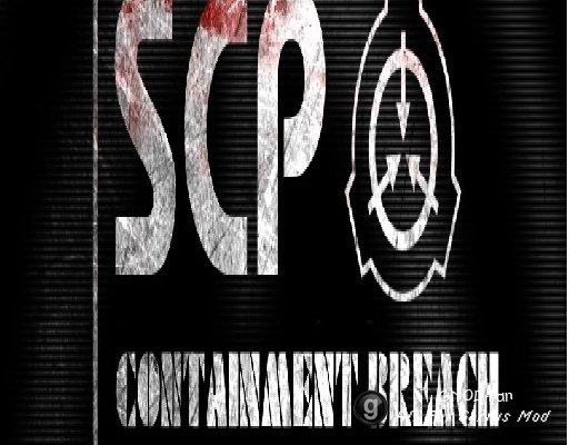 P90 with scp: containment breach sound