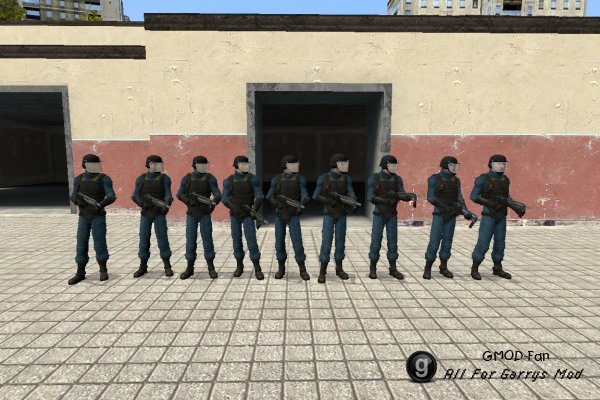 Fallout 3 101 Security Officers NPCs and Playermodels