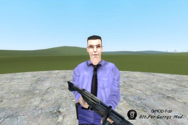 Barney from Half-Life: Blue Shift