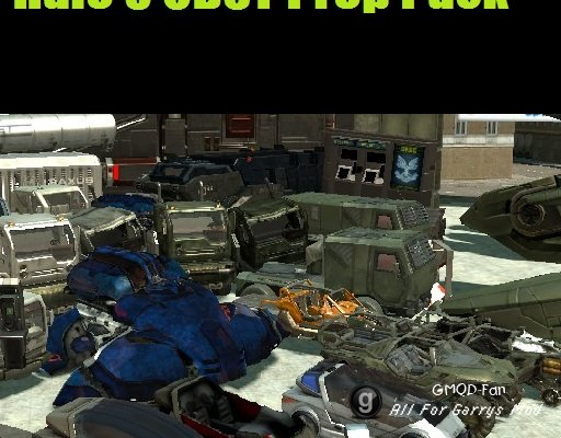 Halo 3 Props Pack