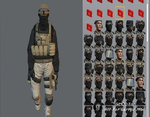 PMC playermodels