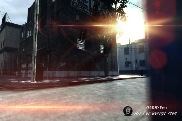 BF4 style lens-flare